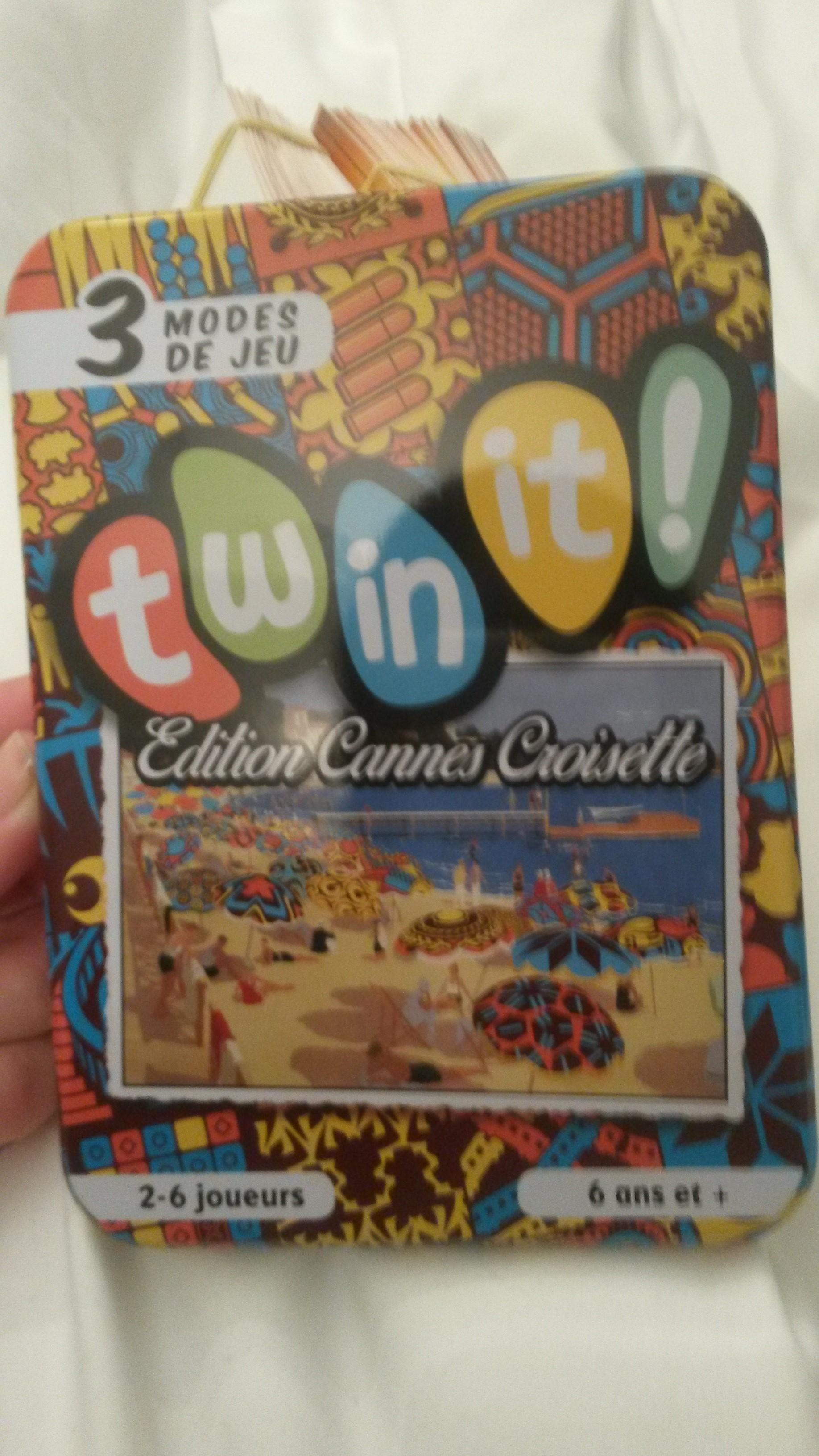 Le Twin It spécial jeux de société édition Cannes Croisette