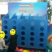 A giant connect 4 shoot to be successful with shoots