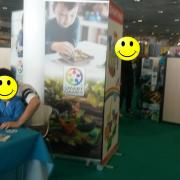 Smart Games came to present its games