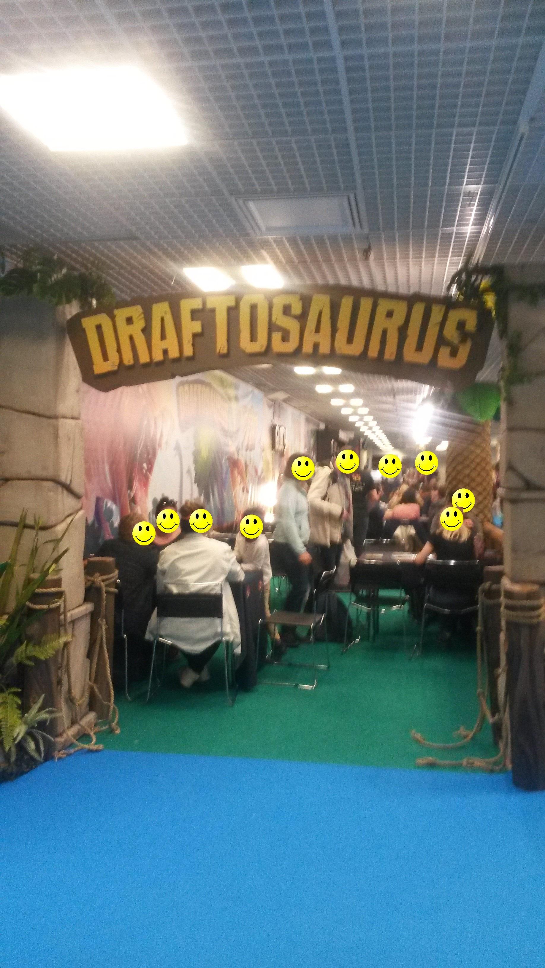 Draftosaurus fait le plein aussi