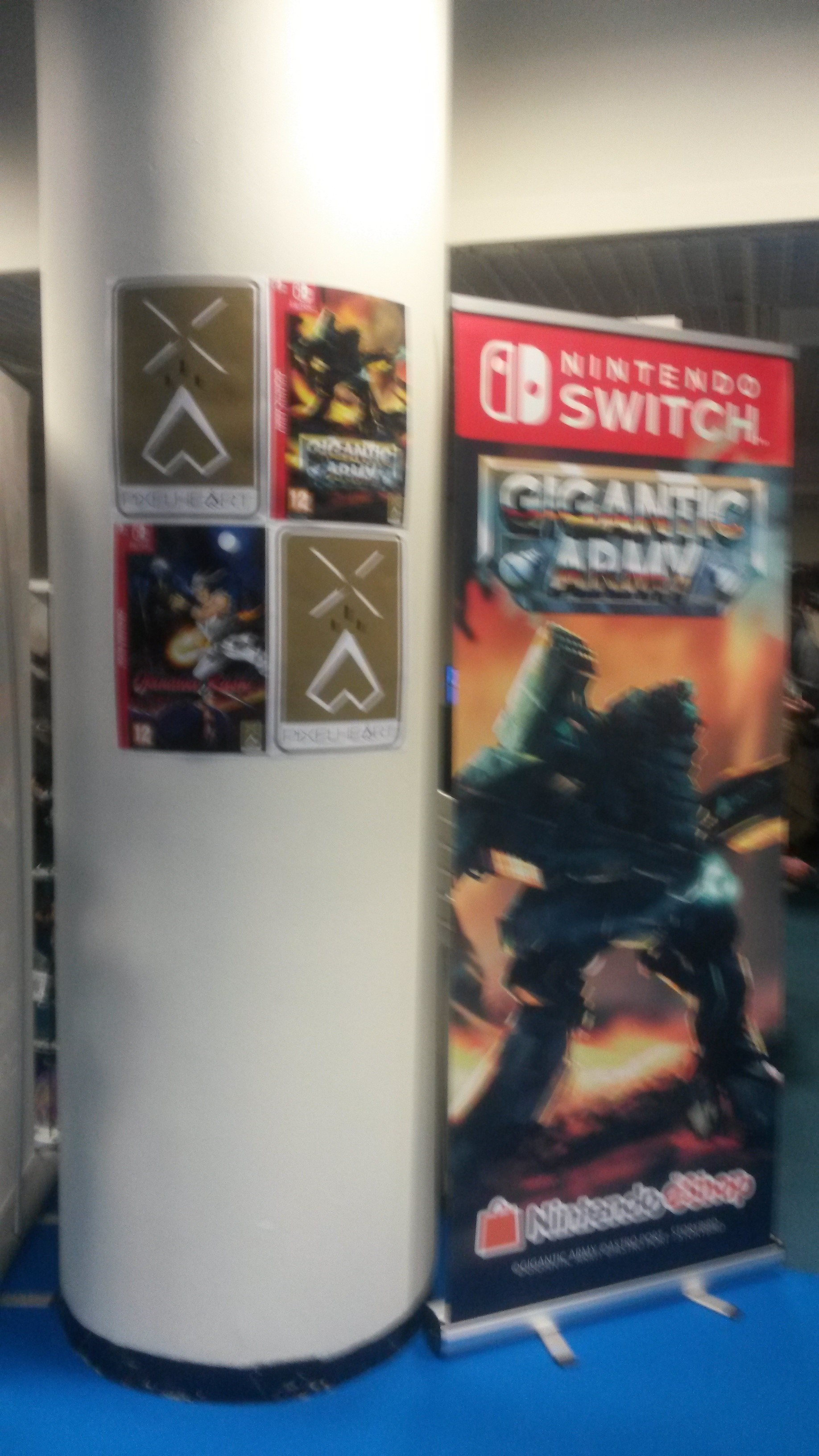 Les jeux vidéos avaient leur espace aussi