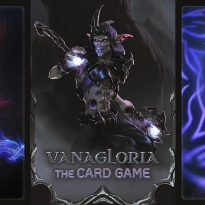 Discover in our store Vanagloria, a card game in the dark sorcerers universe!