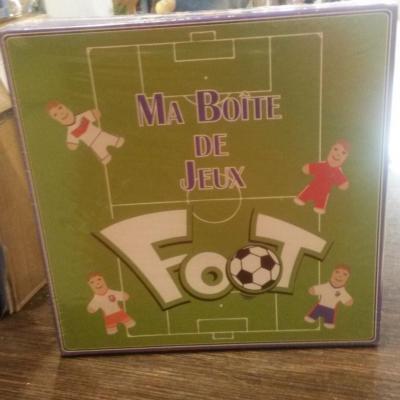 Ma boîte de jeux foot