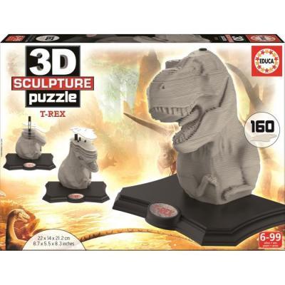 Puzzle 3D T-rex 160 pièces