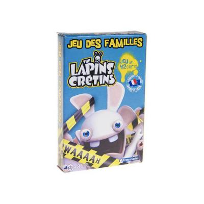 Jeu de 7 familles lapins crétins