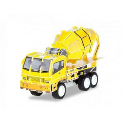 3D Puzzle Ciment Mixer 36 pieces Herpa Toys