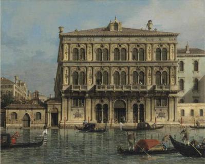 Canaletto palazzo loredan vendramin calergi