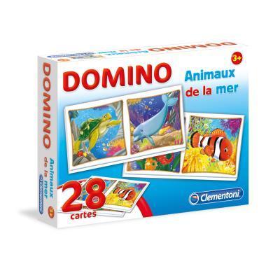 Domino animaux de la mer clementoni