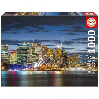 Puzzle 1000 pièces Sydney de nuit