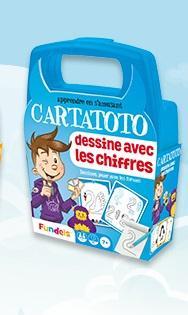 Cartatoto dessine avec les chiffres