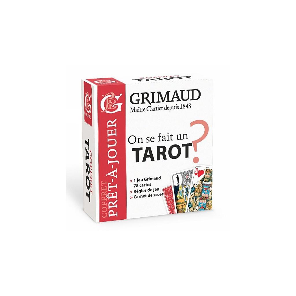Grimaud coffret pret a jouer tarot1
