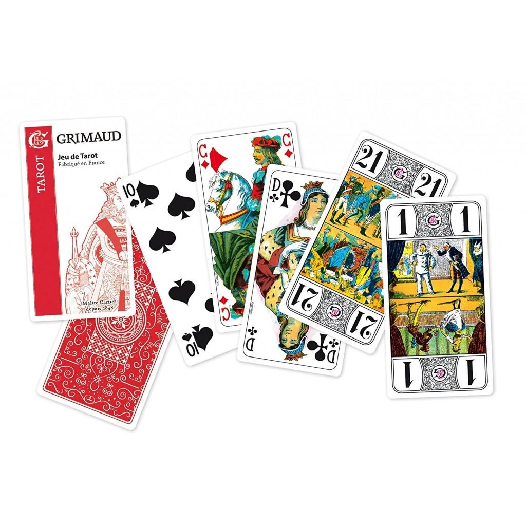 Grimaud coffret pret a jouer tarot3