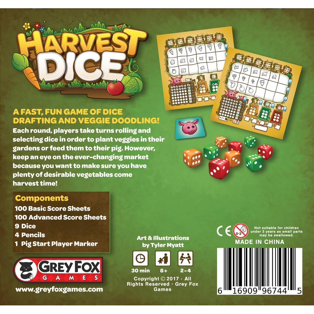 Harvest dice2