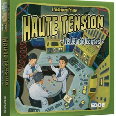 Haute Tension, le jeu de cartes