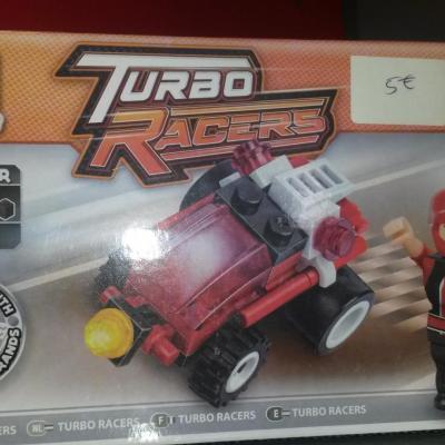 Block Tech Racing Car 37 pieces