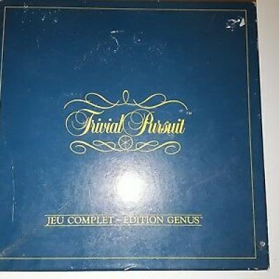 Trivial Pursuit Genius 1988