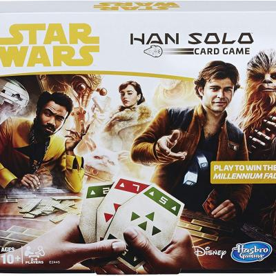Jeu cartes Star Wars Han Solo