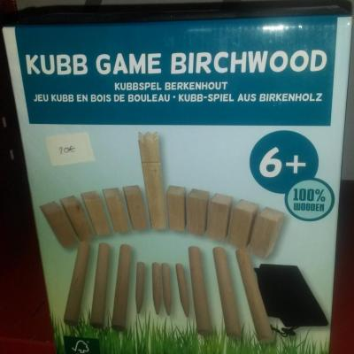 Kubb game birchwood
