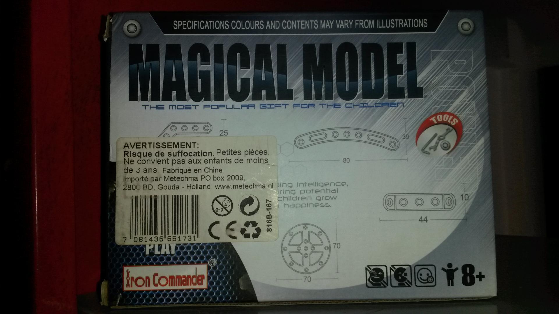 Magicalmodel46pcs2