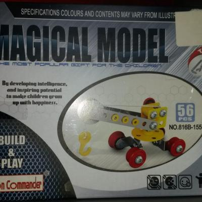 Construction Crane 56 pieces Magical Model
