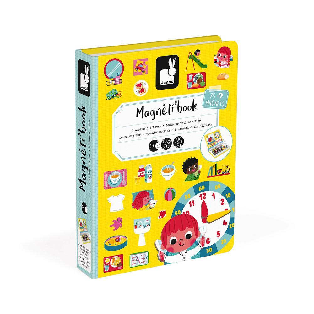 Magneti book j apprends l heure 75 magnets1