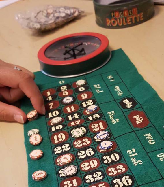Mini jeu roulette