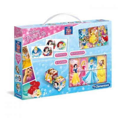 Mini kit jeux princesses clementoni