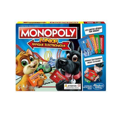 Monopoly junior banque électronique