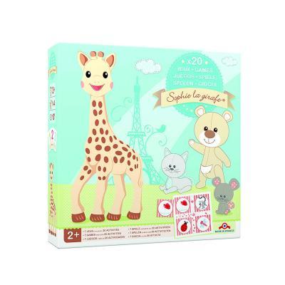 Coffert 20 jeux Sophie la girafe