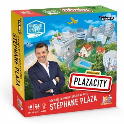 Plaza city 220 cartes plateau sablier de 12 pions jetons