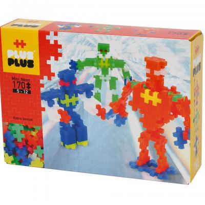 Plusplusminineonrobots170pcs1