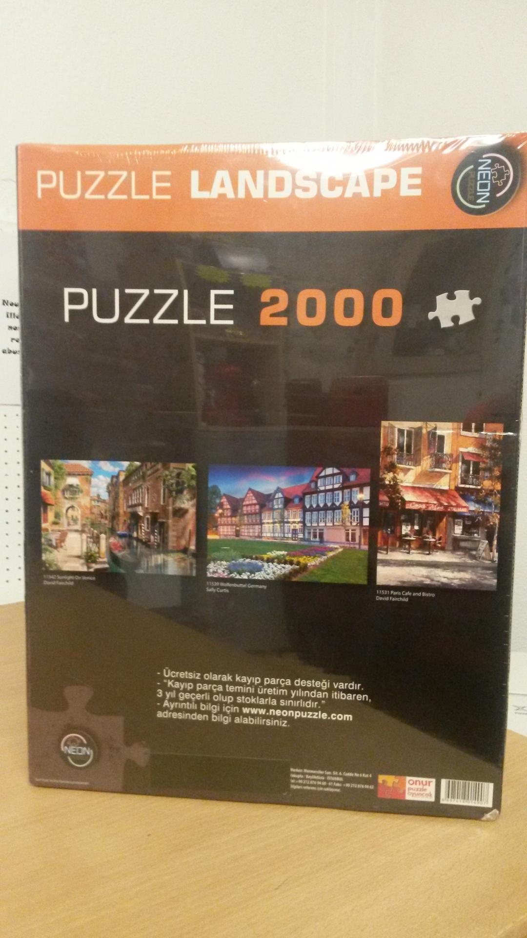 Puzzle2000piecesparisbistrotparisein2