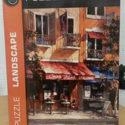 Puzzle 2000 pièces cafés et bistrots de Paris