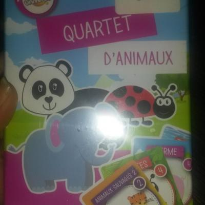 Quartet animaux