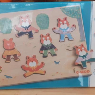 Puzzle Djeco foxy match