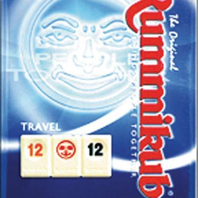 Rummikub voyage, boîte métallique