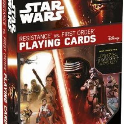54 cards game Star Wars episode 7