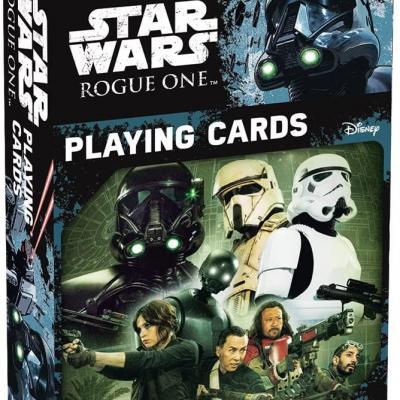 54 card game Star War One Rogue cardboard box