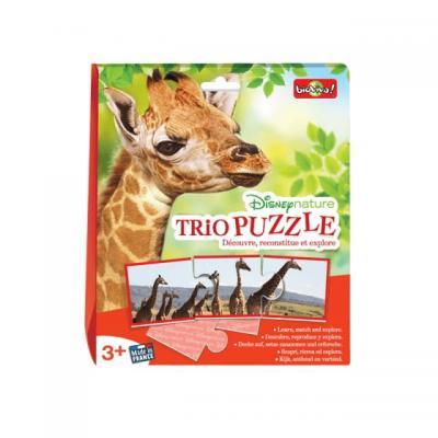 Trio puzzle disney animaux bioviva