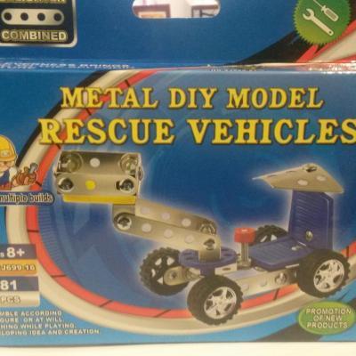 Emergency Vehicle 81 pieces Enlighten Combined